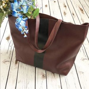 Madewell Transport Tote/Cabernet.